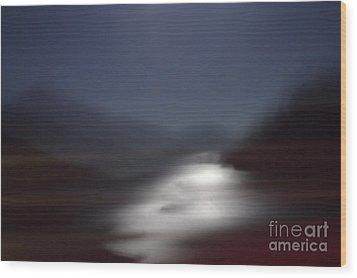 Yosemite Moonlight Wood Print by Tonja Gabryshak Howard