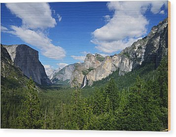 Yosemite National Park Wood Print by RicardMN Photography