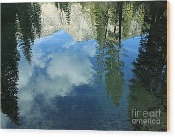 Yosemite Reflection 2 Wood Print