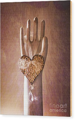 You Can Have My Heart Wood Print by Terry Rowe