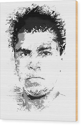 Young Cassius Clay Wood Print by Daniel Hagerman
