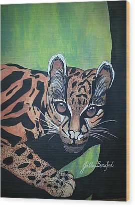 Young In Wild Wood Print by Joetta Beauford