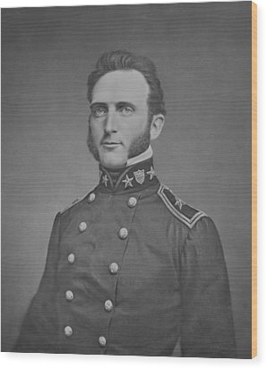 Young Stonewall Jackson  Wood Print by War Is Hell Store
