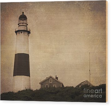 Your Night Light Wood Print by A New Focus Photography