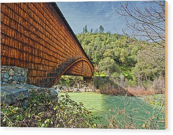 Wood Print featuring the photograph Yuba State Park by Jim Thompson