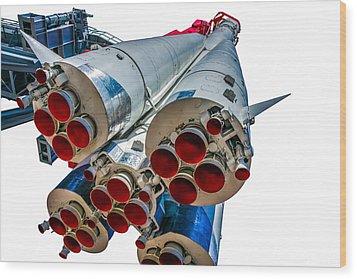 Yuri Gagarin's Spacecraft Vostok-1 - 5 Wood Print