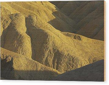 Wood Print featuring the photograph Zabriski Point #4 by Stuart Litoff