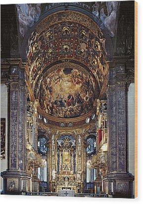 Zaccagni Giovan Francesco, Church Wood Print by Everett