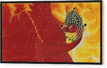 Zarya Wood Print by N Larson