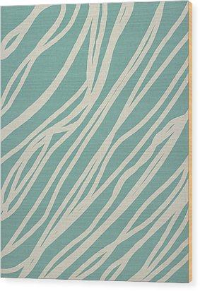 Zebra Wood Print by Aged Pixel