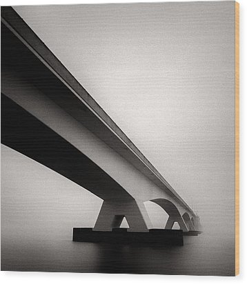 Zeelandbrug 2 Wood Print