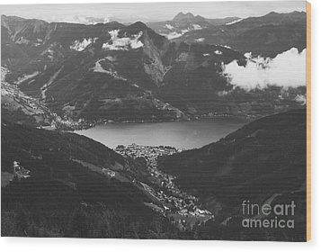 Zell Am See Iv Wood Print