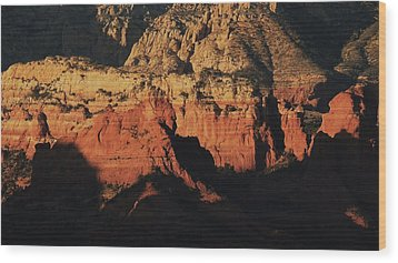 Zen Moment In Sedona Wood Print by Todd Sherlock