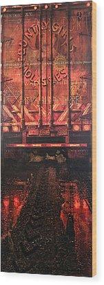 Zen Transport Wood Print by Blue Sky