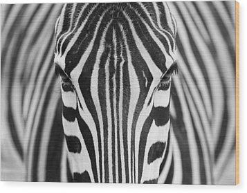 Zepra Wood Print by Hesham Alhumaid