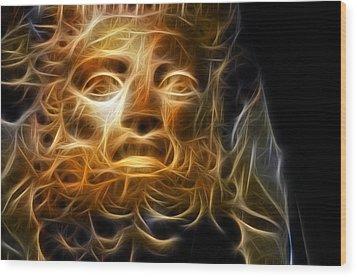 Zeus Wood Print by Taylan Apukovska