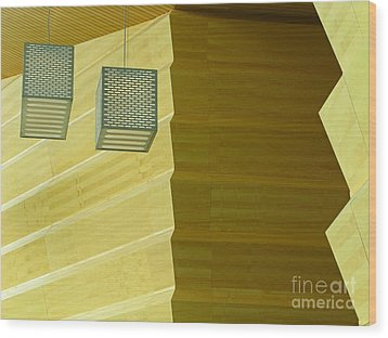 Wood Print featuring the photograph Zig-zag by Ann Horn