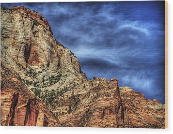 Zion Face 695 Wood Print