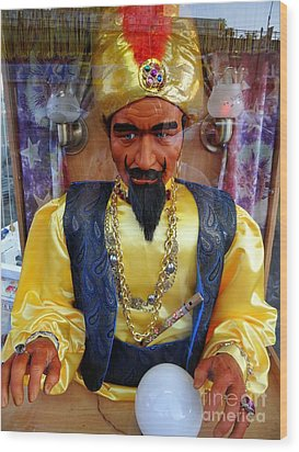 Wood Print featuring the photograph Zoltar by Ed Weidman