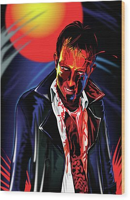 Zombie Rezurrection Wood Print by Brian Gibbs