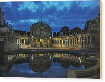 Zwinger Dresden Germany Wood Print