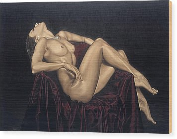 Exquisite Wood Print by Richard Young