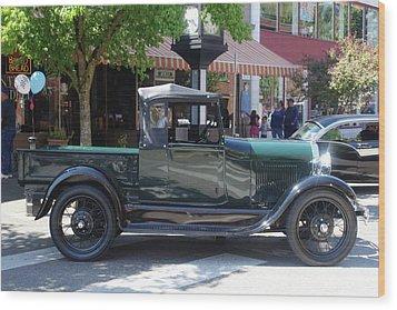 29 Ford Pickup Wood Print