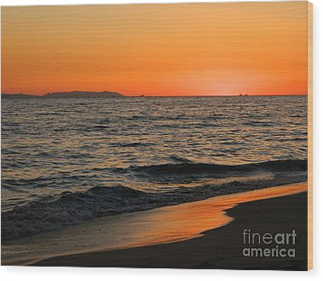 Wood Print featuring the photograph  75 Degrees by Everette McMahan jr