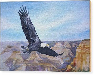 Eagle   American Bald Eagle Wood Print