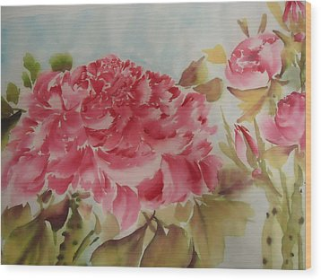 Flower0728-3 Wood Print by Dongling Sun