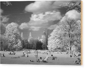 In Park Wood Print by Odon Czintos