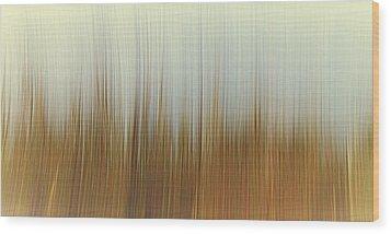 Movement Wood Print by Stelios Kleanthous
