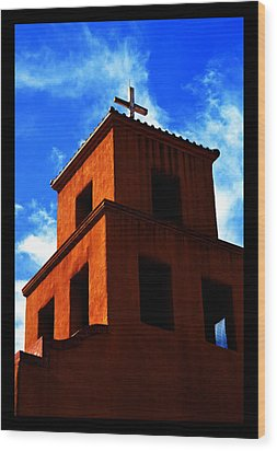 Wood Print featuring the photograph  Santuario De Guadalupe by Susanne Still