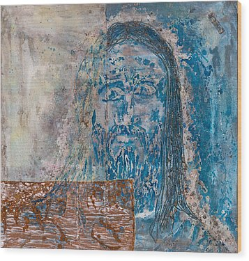 See Me See My Father And The Spirit Wood Print by Thomas Lentz