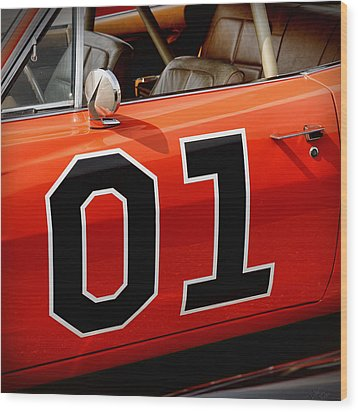 01 - The General Lee 1969 Dodge Charger Wood Print by Gordon Dean II
