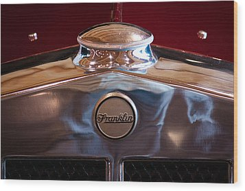 1929 Franklin Model 130 2-door Coupe Wood Print by David Patterson