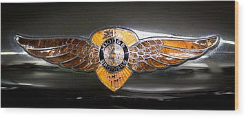 1933 Dodge Dp Rs 2 Door Coupe Wood Print by David Patterson
