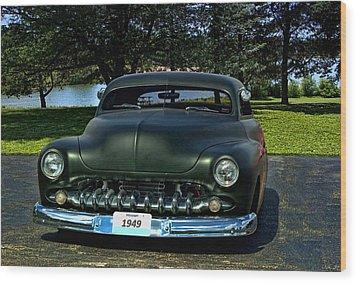 1949 Mercury Lead Sled Wood Print by Tim McCullough