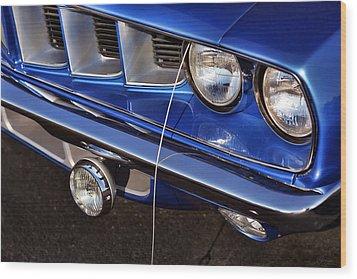 1971 Plymouth Hemicuda Wood Print by Gordon Dean II