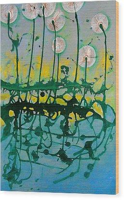 A Dream Wood Print by Nina Mirhabibi