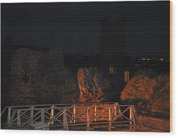 Aberystwyth Wood Print