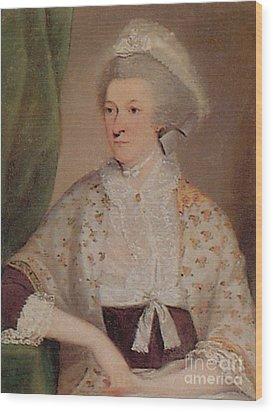 Abigail Adams Wood Print by Photo Researchers