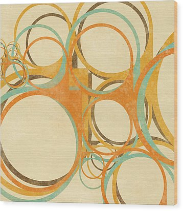 Abstract Circle Wood Print by Setsiri Silapasuwanchai