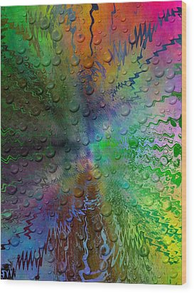 After The Rain 2 Wood Print by Tim Allen