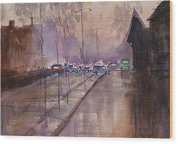 After The Rain Wood Print by Heidi Patricio-Nadon