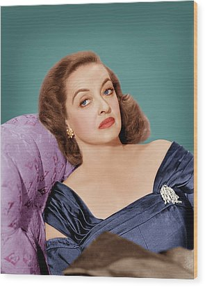 All About Eve, Bette Davis, 1950 Wood Print by Everett