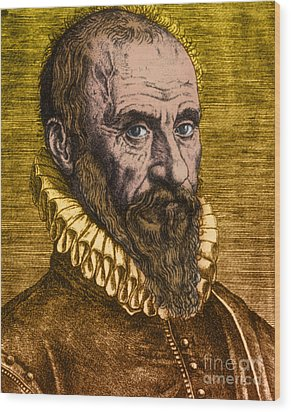 Ambroise Par�, French Surgeon Wood Print by Science Source