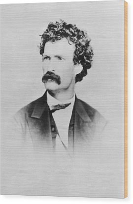 American Writer Mark Twain, Aka Samuel Wood Print by Everett