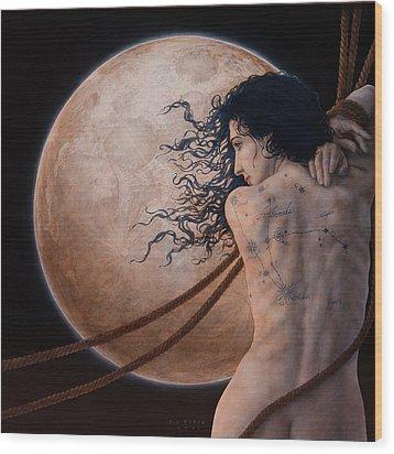 Andromeda Wood Print by Jose Luis Munoz Luque