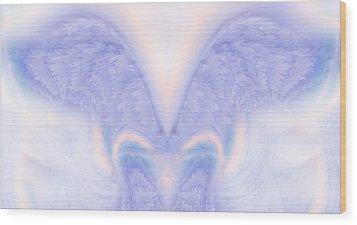 Angel Wings Wood Print by Christopher Gaston